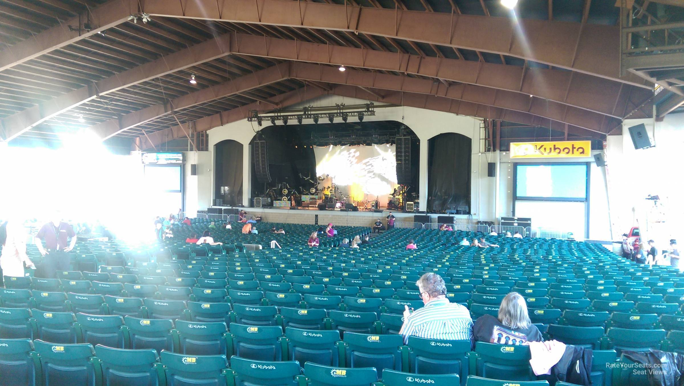 Concert Seat View For Bank Of New Hampshire Pavilion Meadowbrook Section 2c