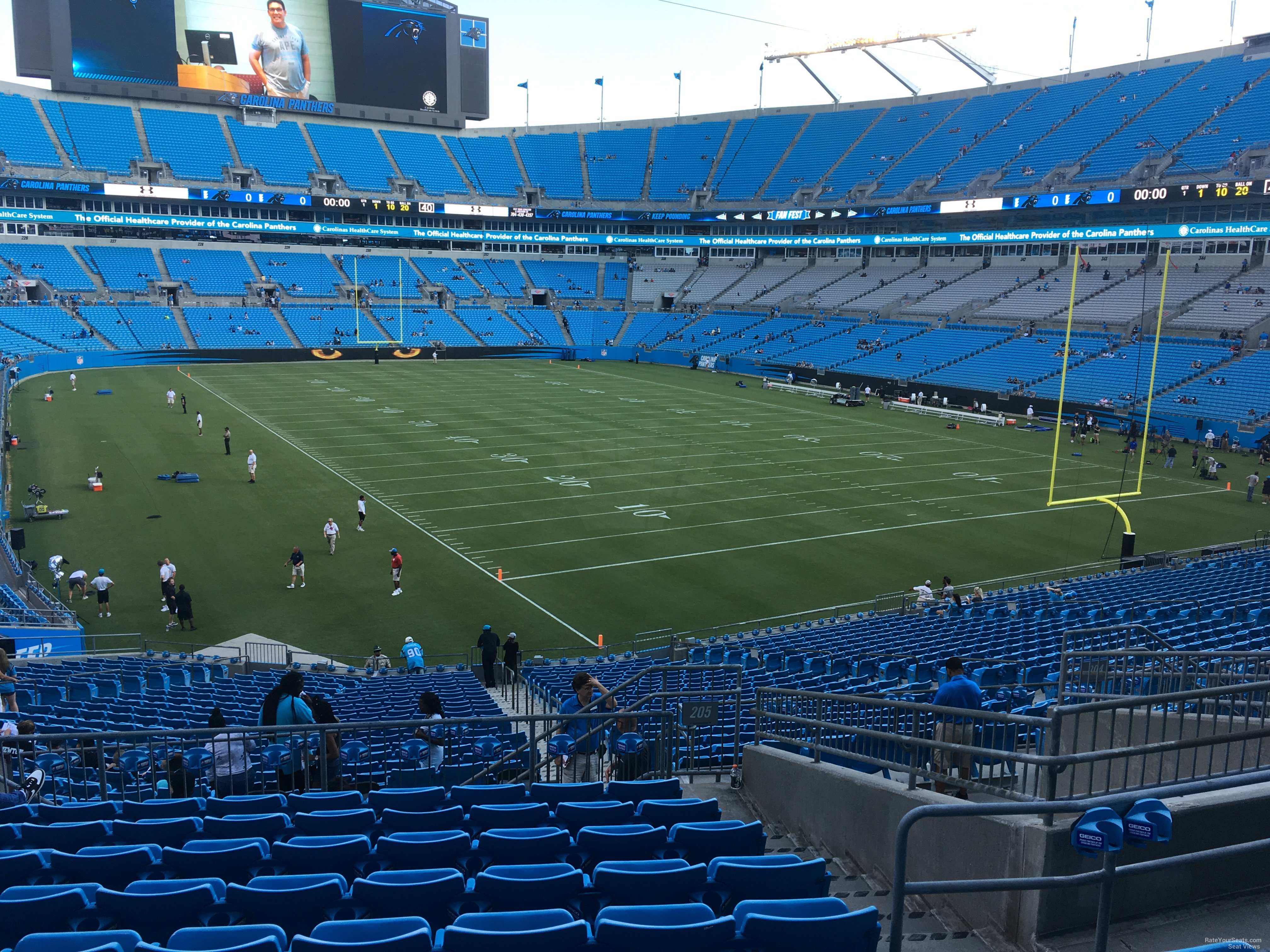 Bank Of America Stadium Section 205