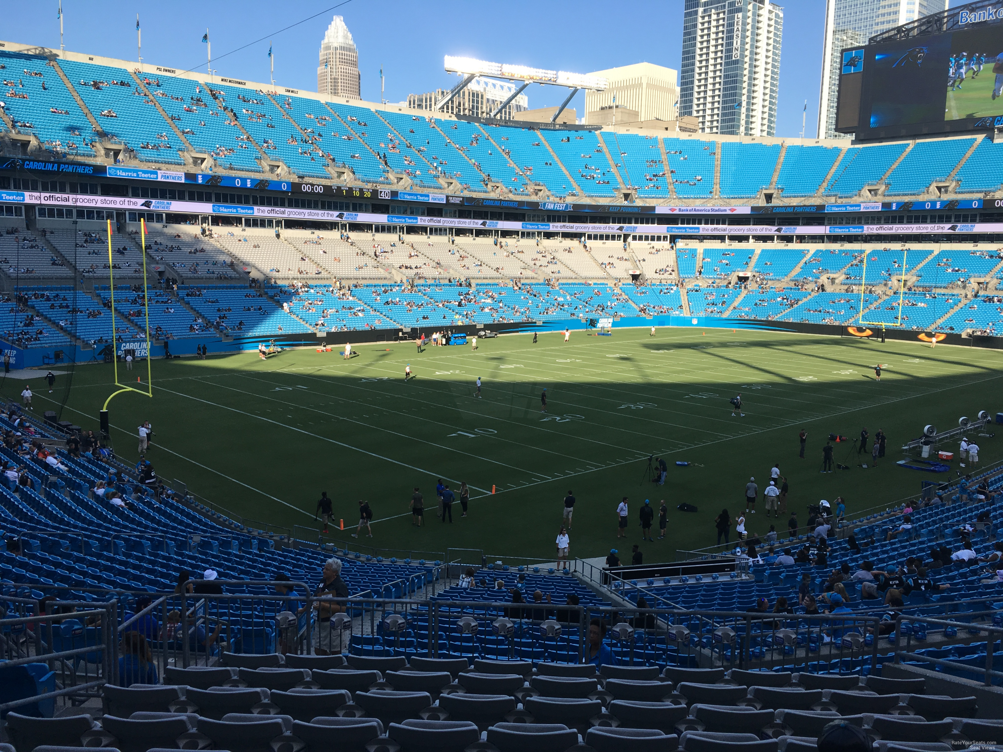 Section 351 at Bank of America Stadium - RateYourSeats.com
