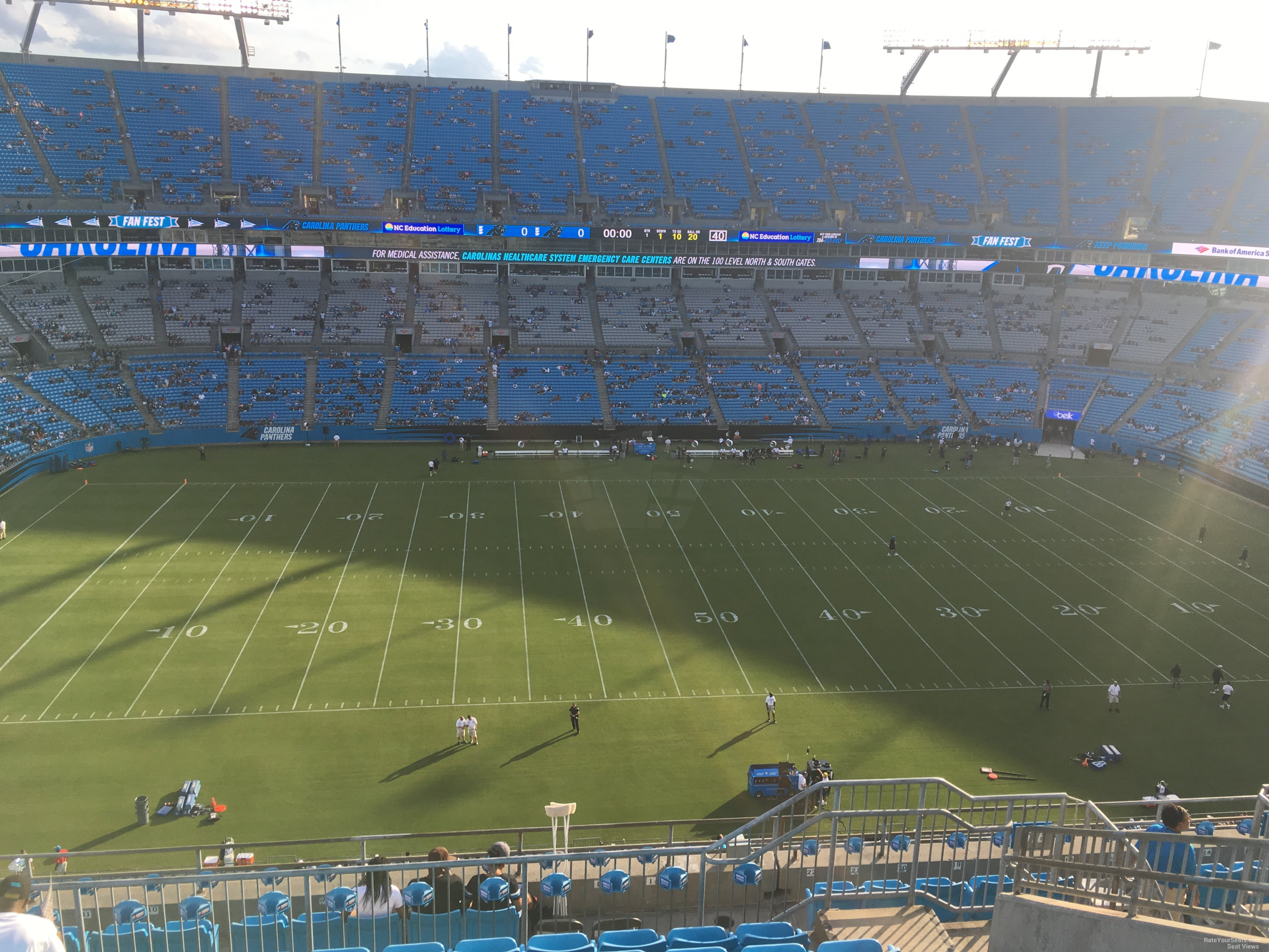 Seat View For Bank Of America Stadium Section 516