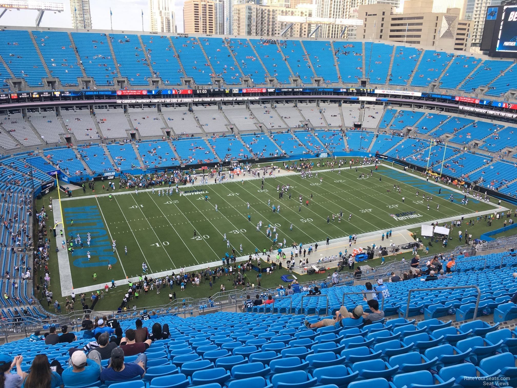 Bank of America Stadium Section 546
