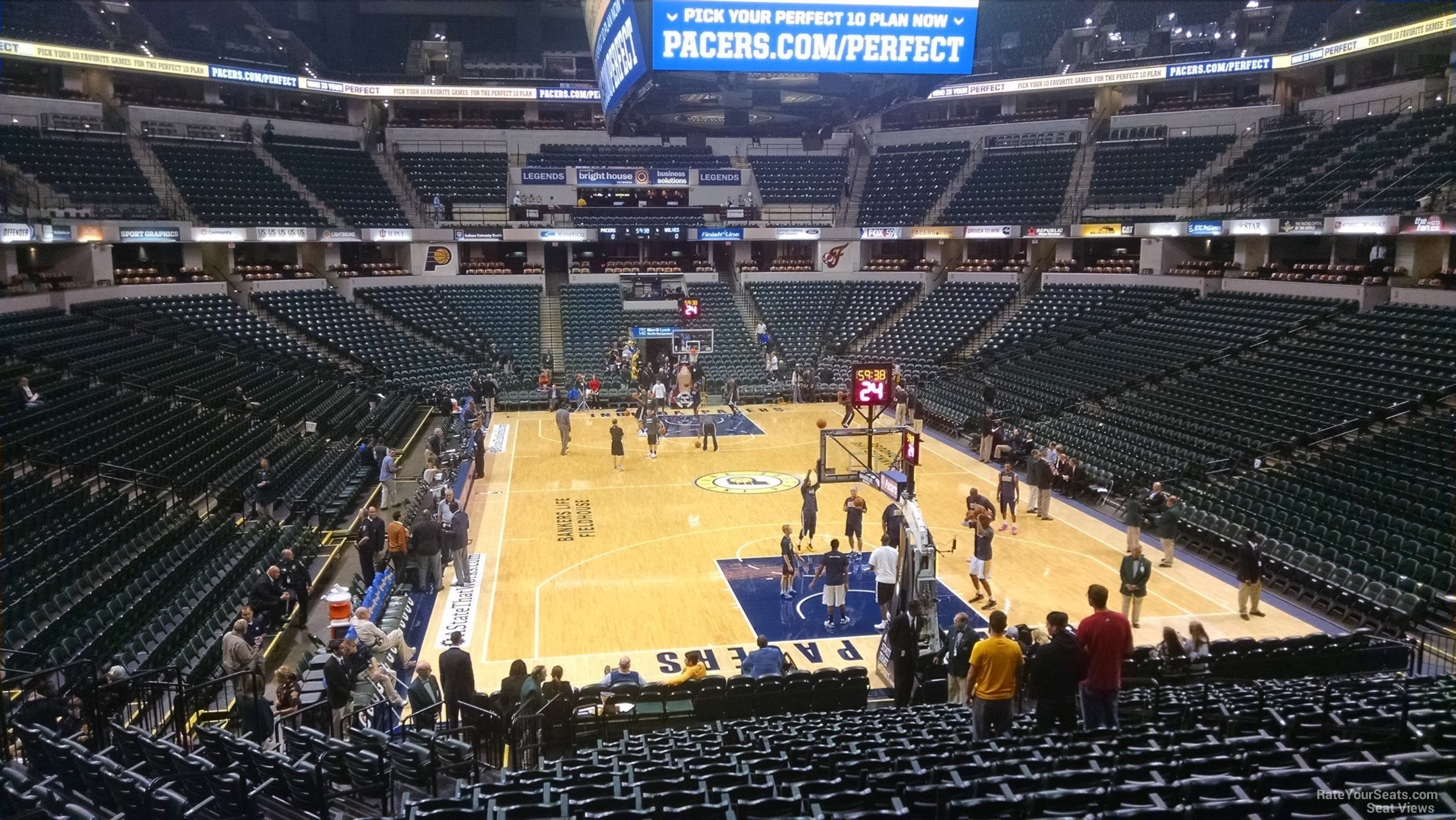 Section 1 Bankers Life Fieldhouse