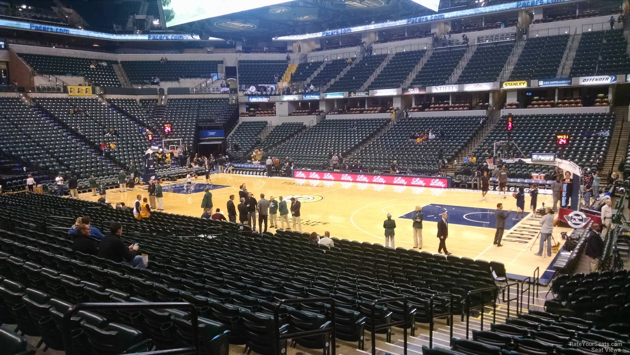 Bankers Life Fieldhouse Section 14 Indiana Pacers