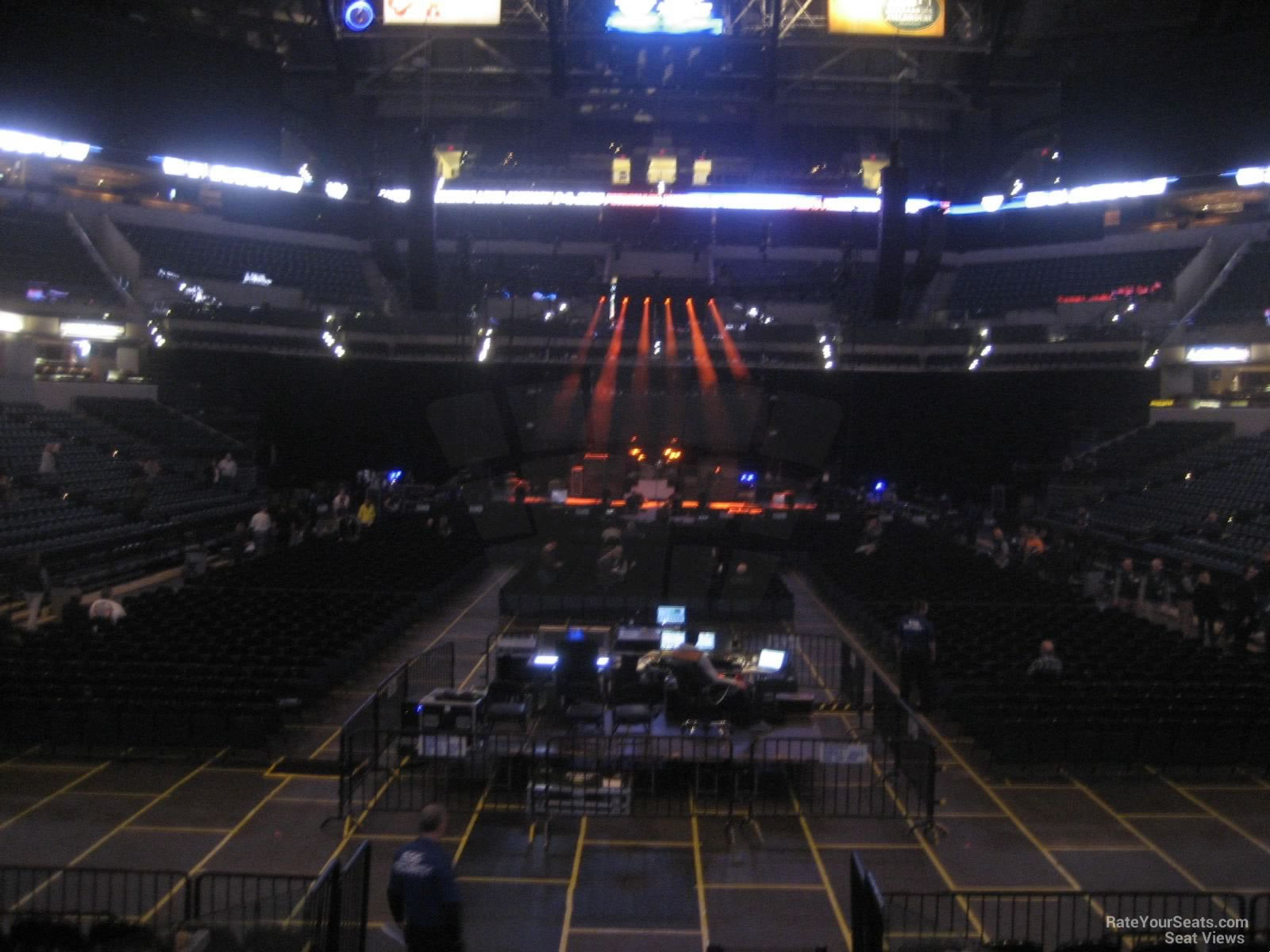 Bankers Life Fieldhouse Section 11 Concert Seating