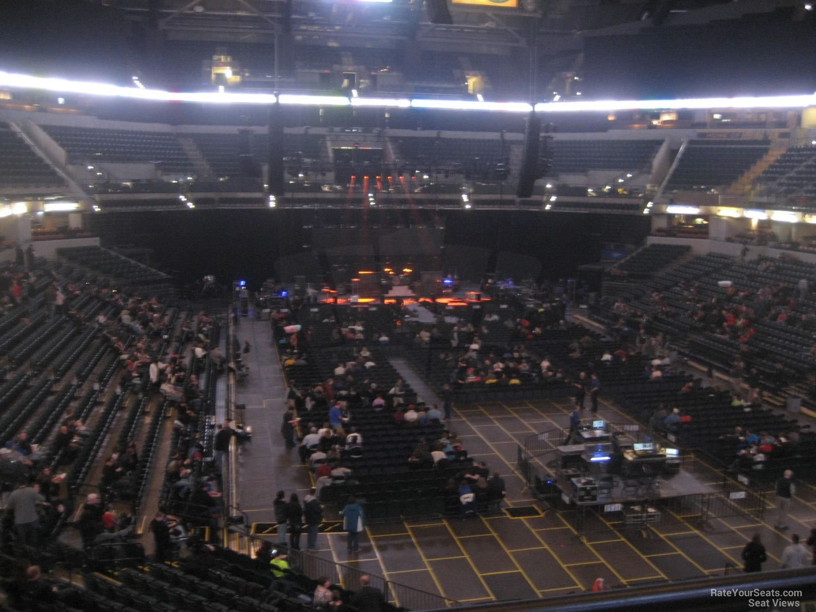 Bankers Life Fieldhouse Section 111 Concert Seating