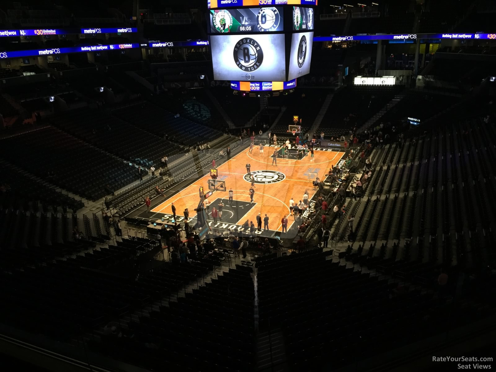 Cheap Tickets Concert >> Barclays Center Section 214 - Brooklyn Nets - RateYourSeats.com