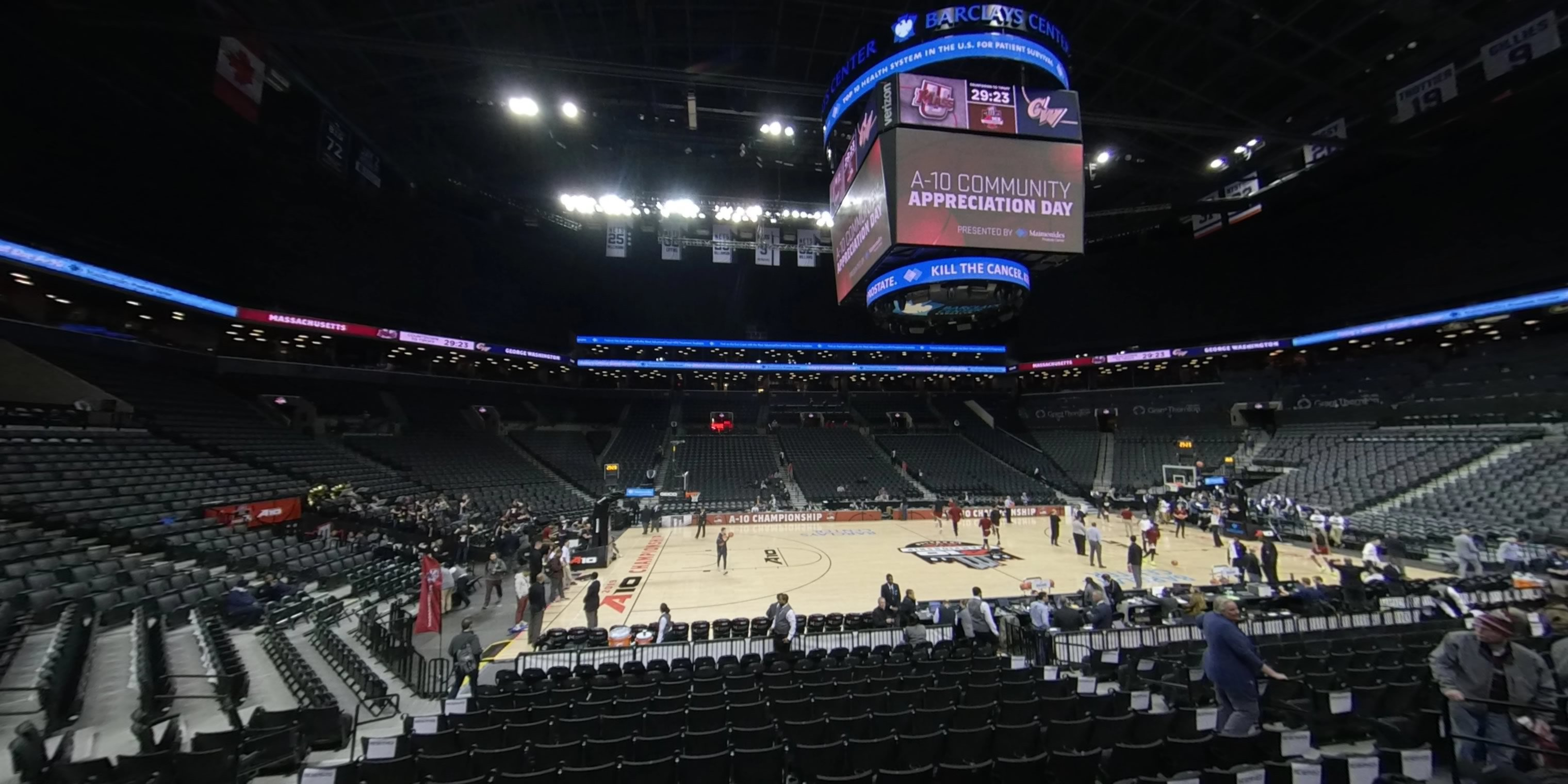 360° Photo From Barclays Center Section 9