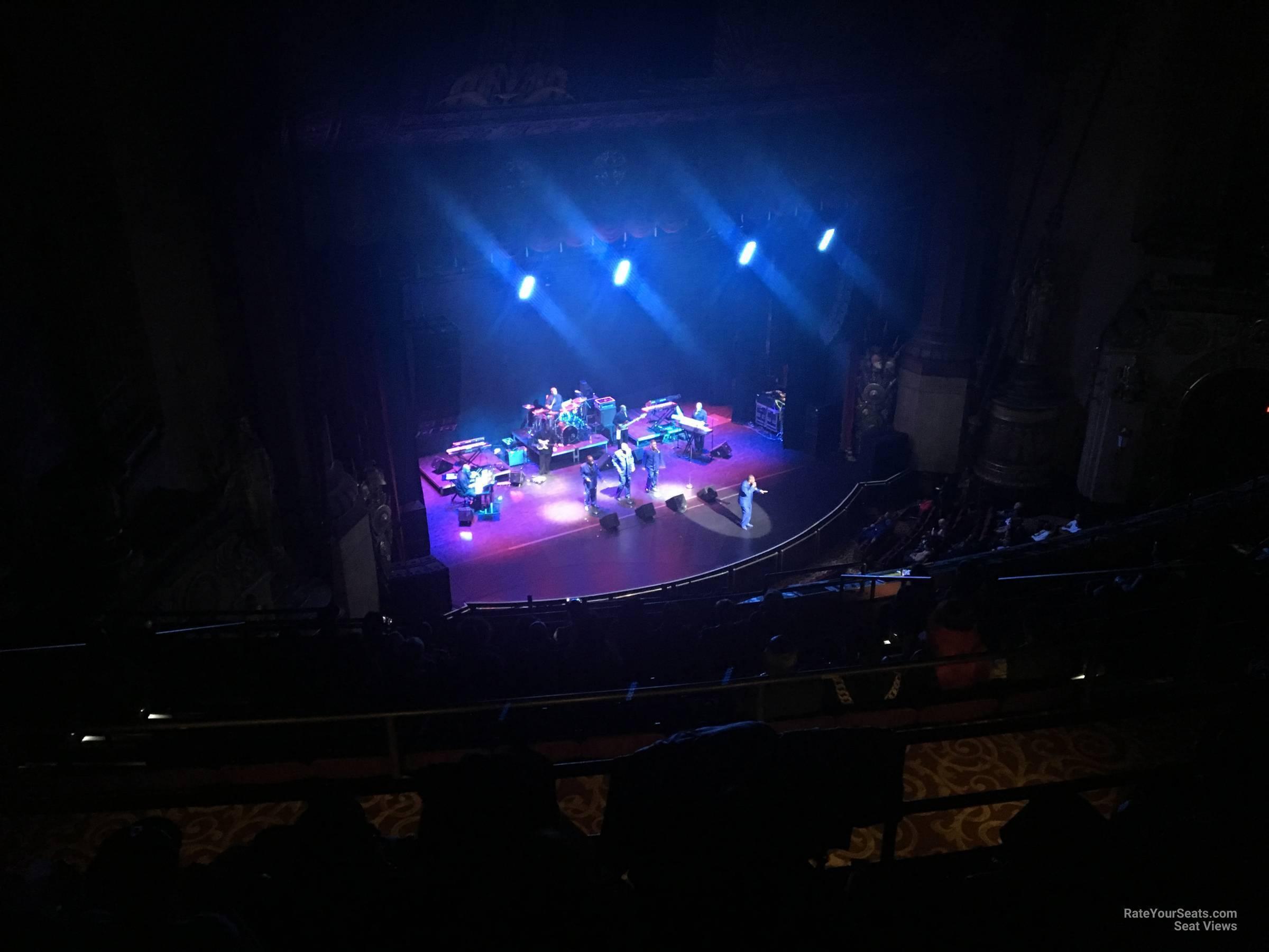 Upper Balcony 3 seat view