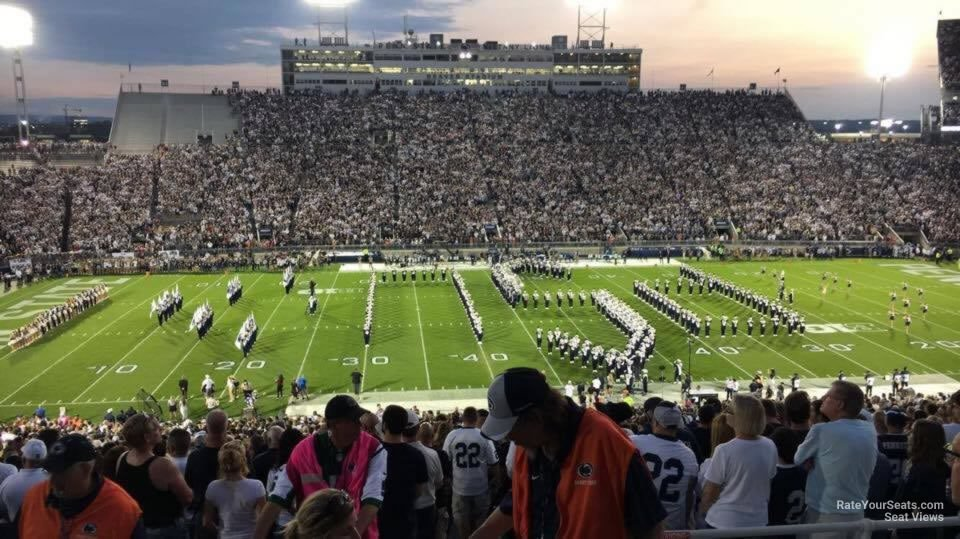 Seat View for Beaver Stadium Section EDU, Row 44