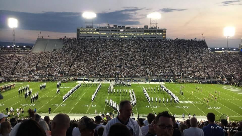 Seat View for Beaver Stadium Section EEU, Row 44