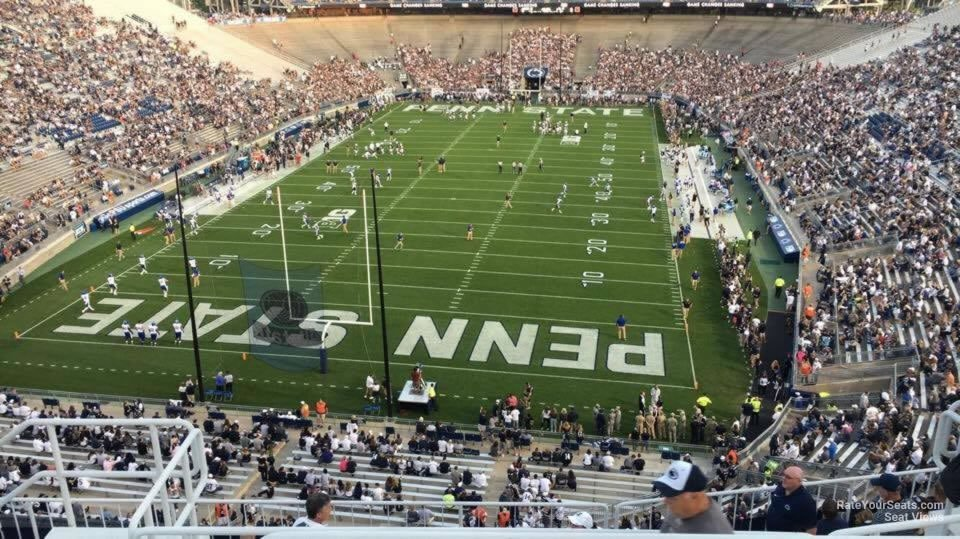 Seat View for Beaver Stadium Section NDU, Row 64