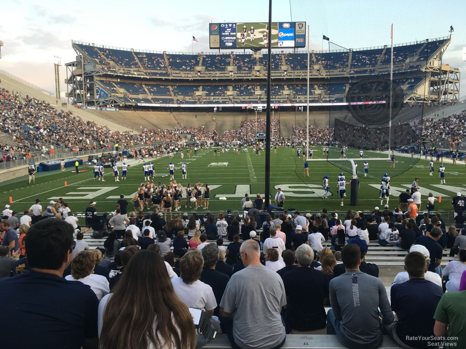 Seat View for Beaver Stadium Section NG, Row 15