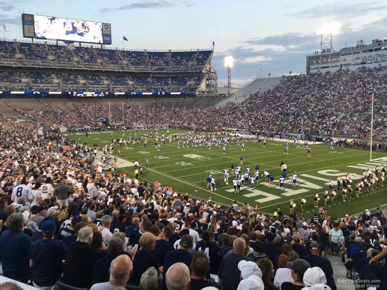Beaver Stadium Seating Chart View Awesome Home