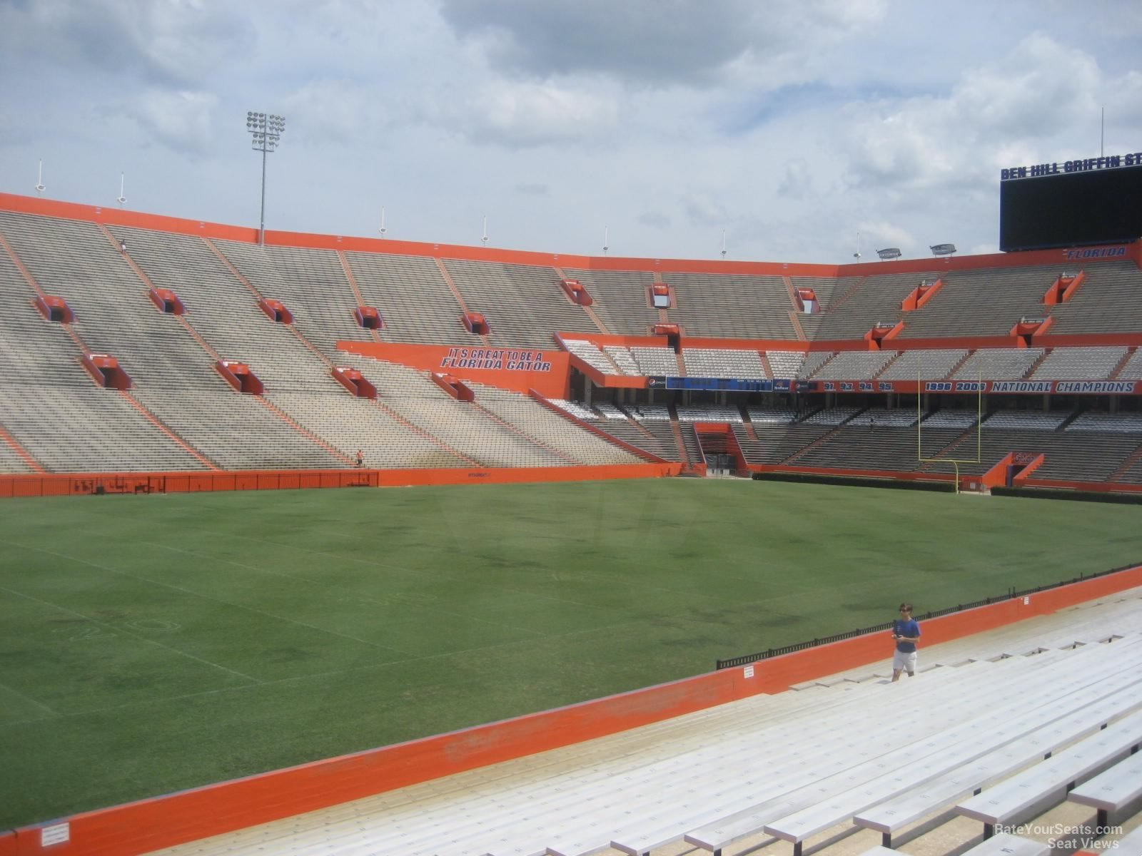 Ben Hill Griffin Stadium Section 16 Rateyourseatscom