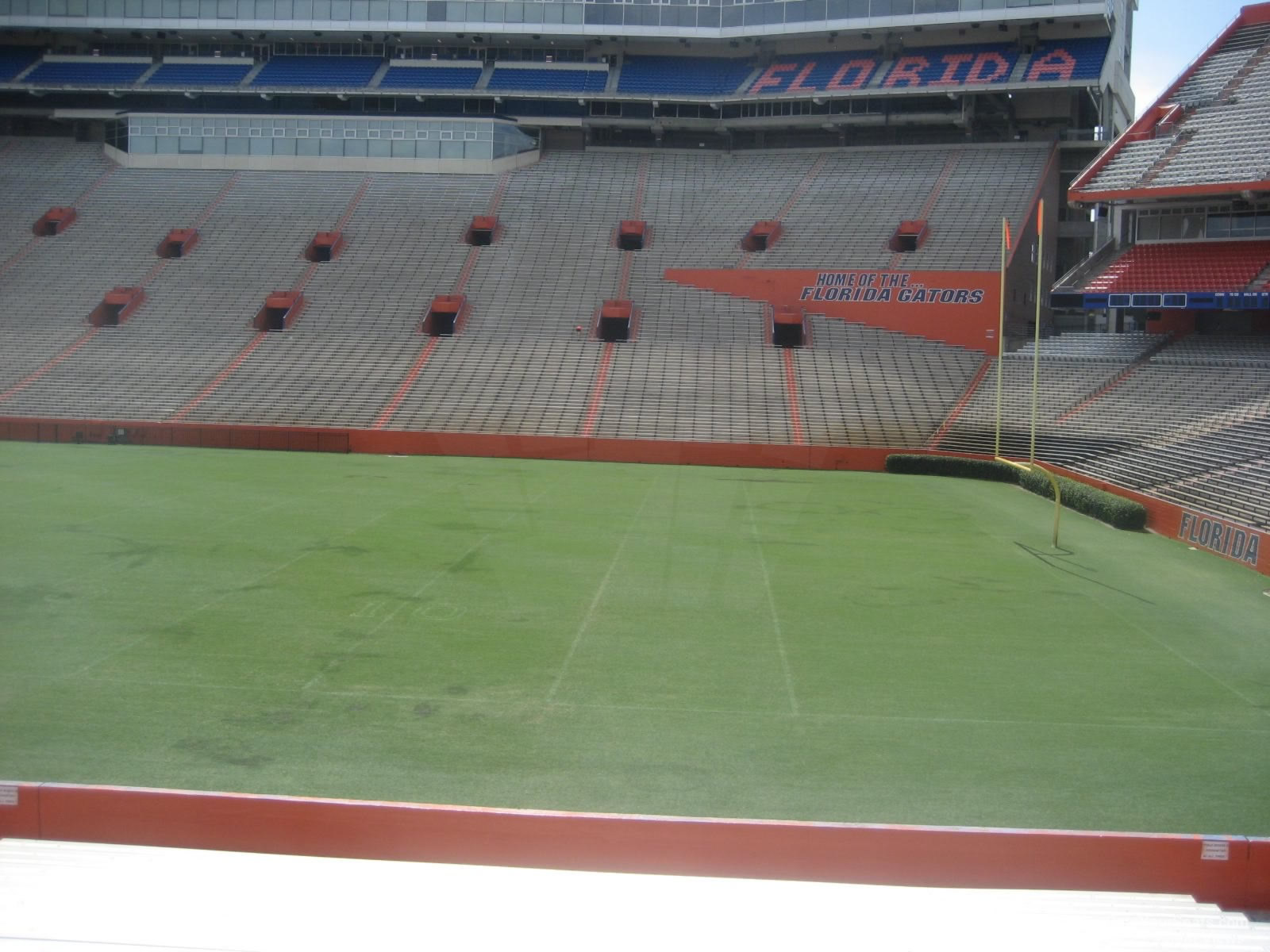 Seat View For Ben Hill Griffin Stadium Section 30