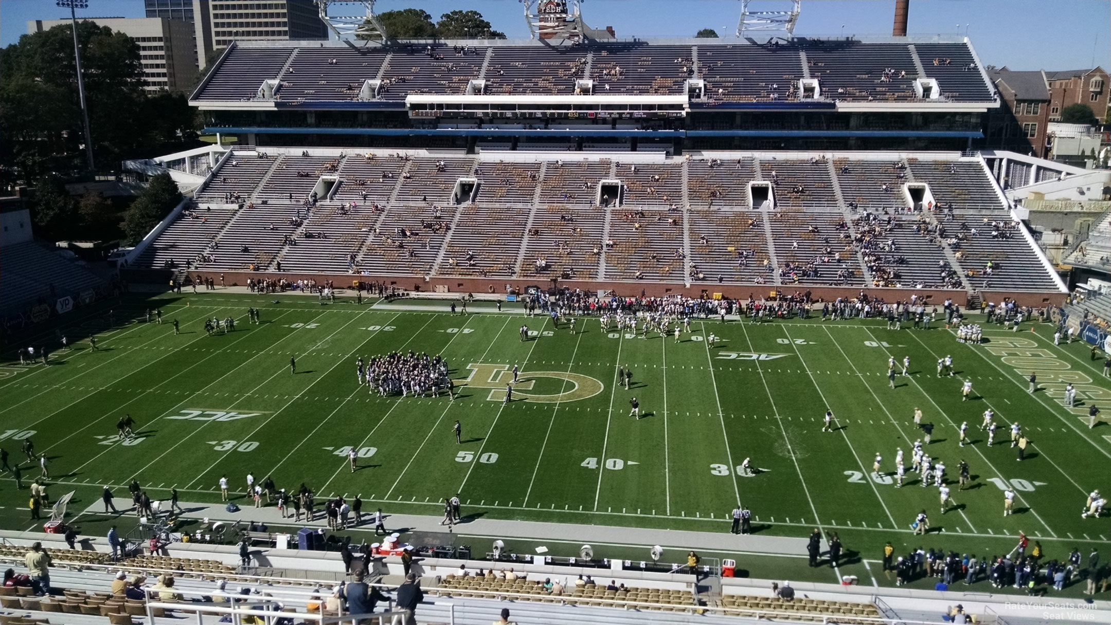 Seat View for Bobby Dodd Stadium Section 224, Row 30