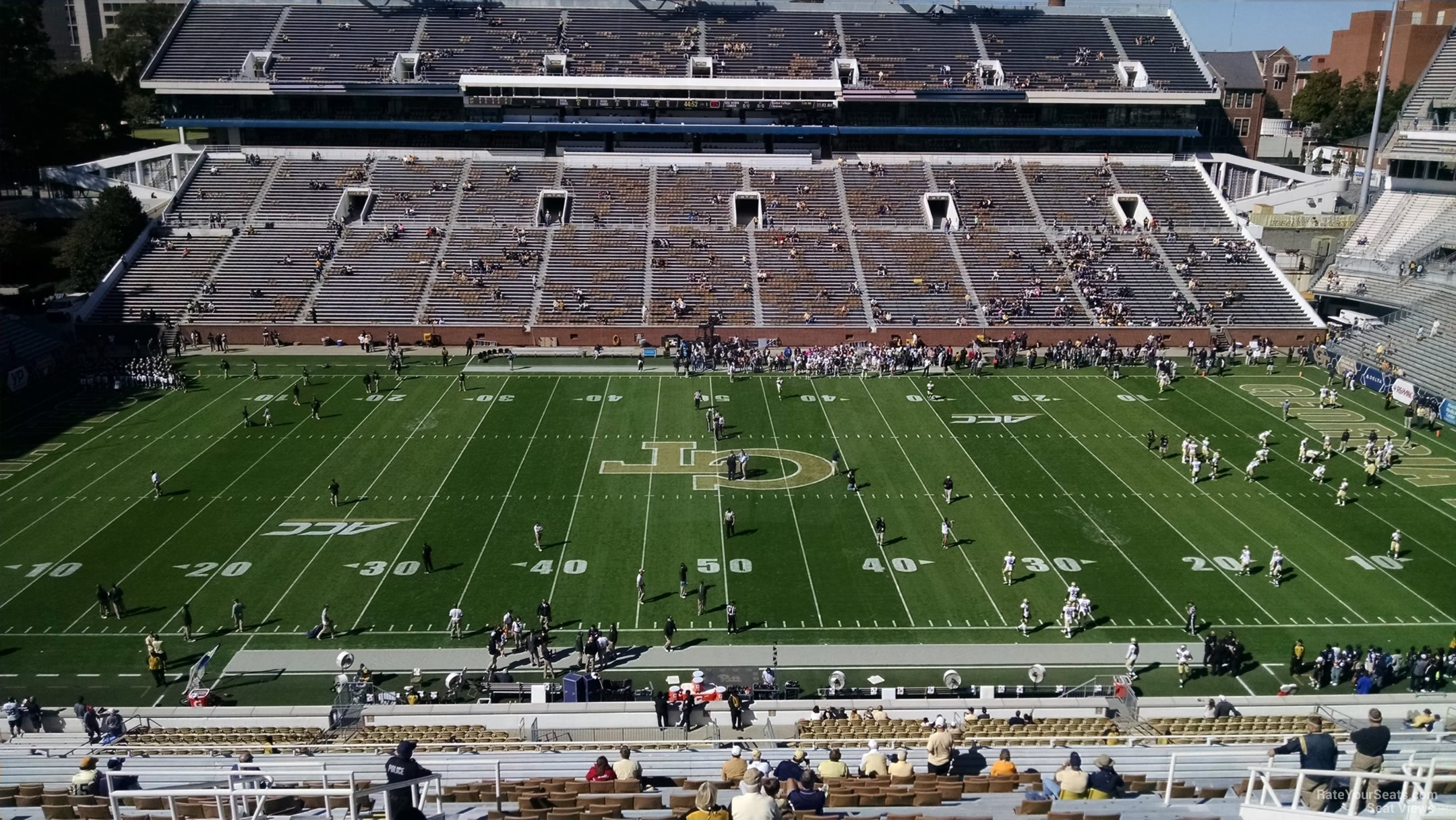 Seat View for Bobby Dodd Stadium Section 225, Row 30