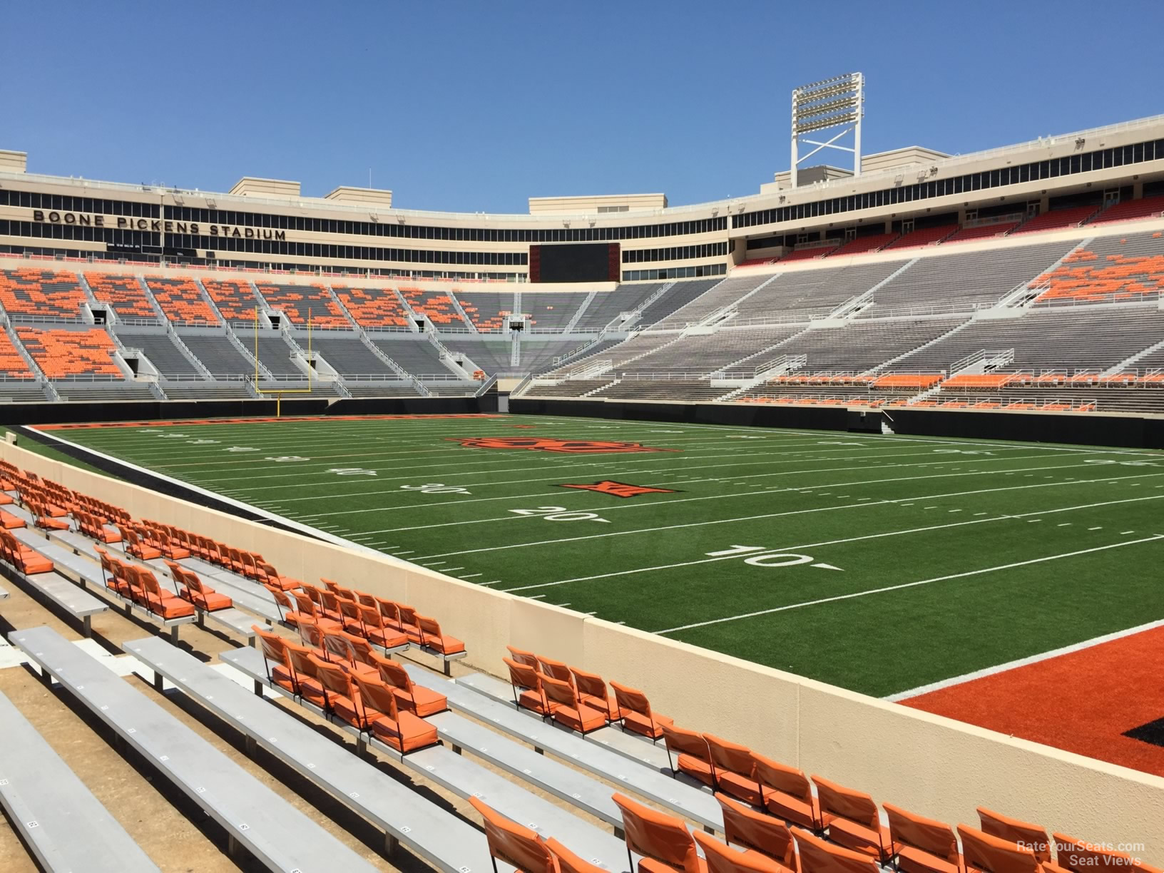 Seat View For Boone Pickens Stadium Section 101