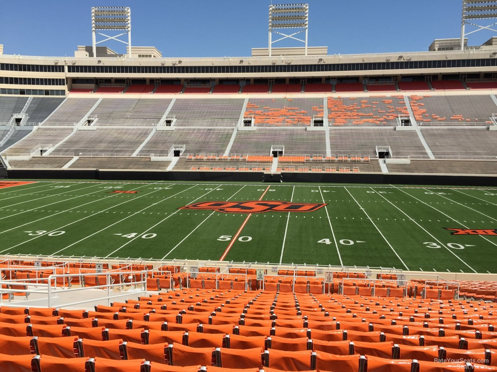 Seat View For Boone Pickens Stadium Section 205