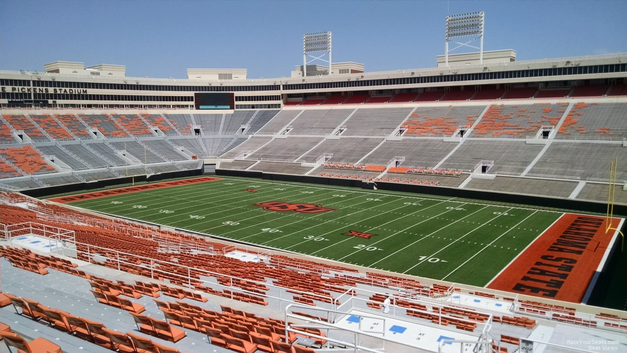 Seat View For Boone Pickens Stadium Section 301