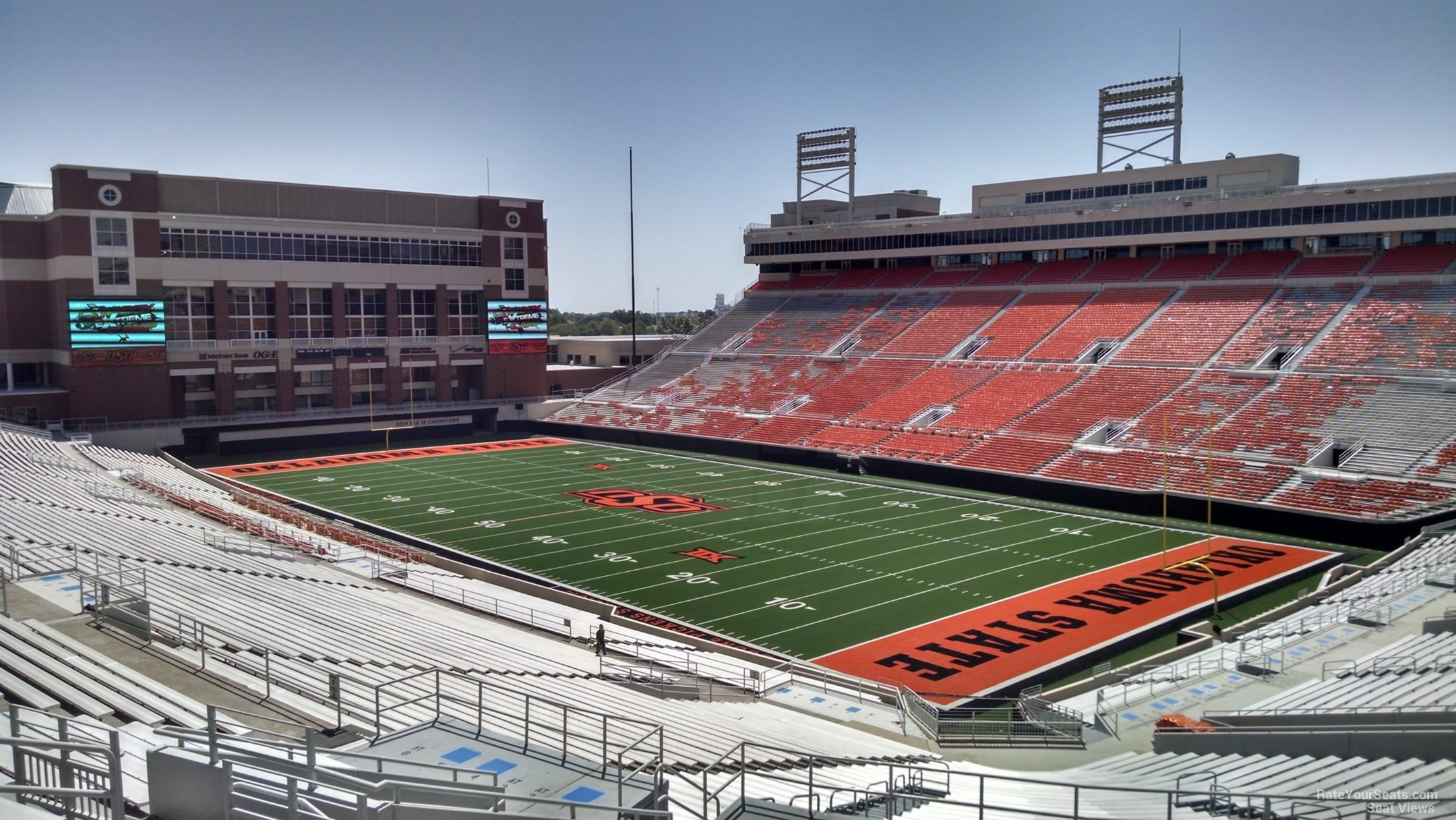 Section 326 at Boone Pickens Stadium - RateYourSeats.com