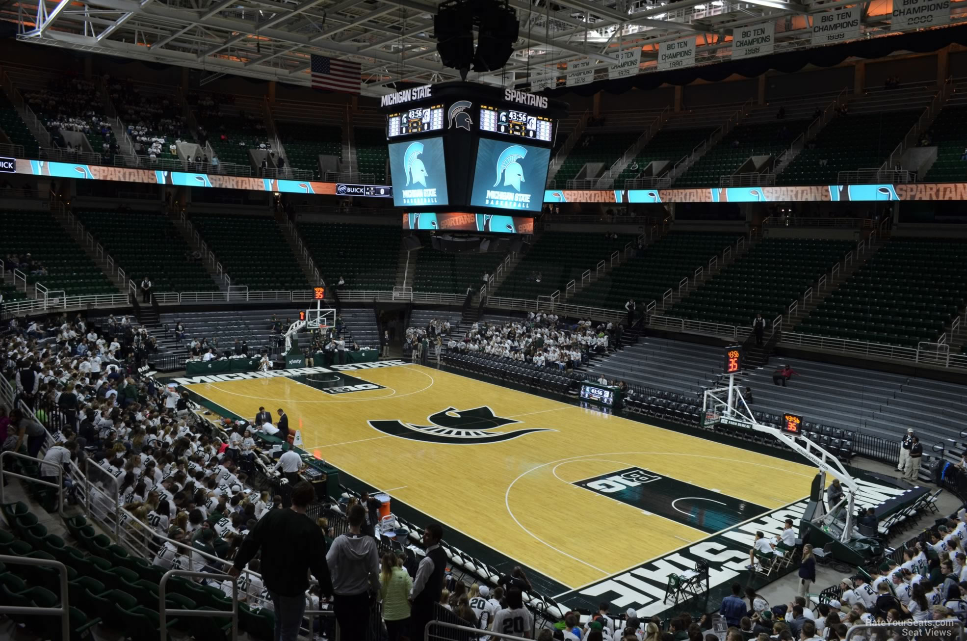 Seat View for Breslin Center Section 106, Row 22