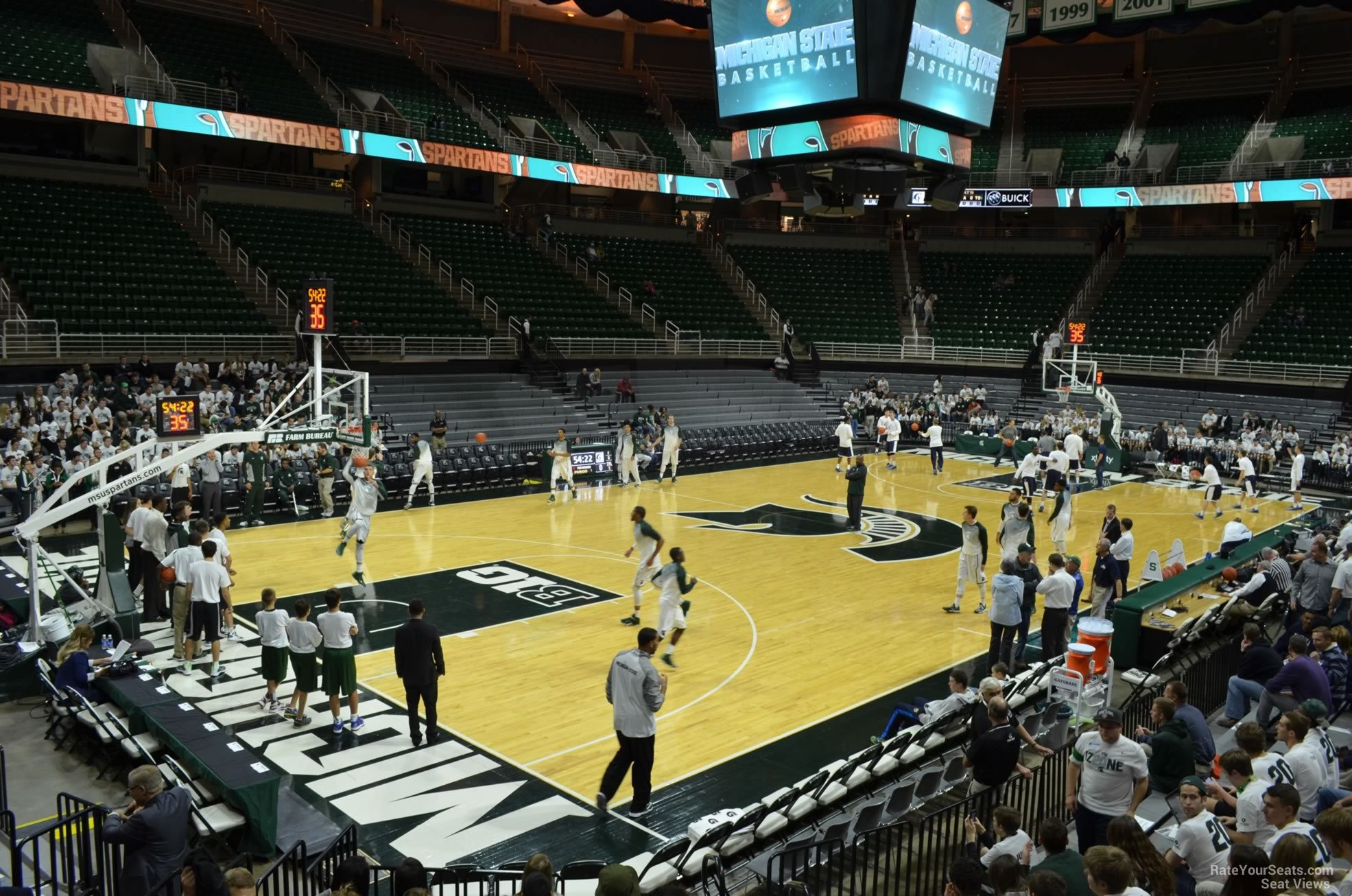 Seat View for Breslin Center Section 115, Row 13