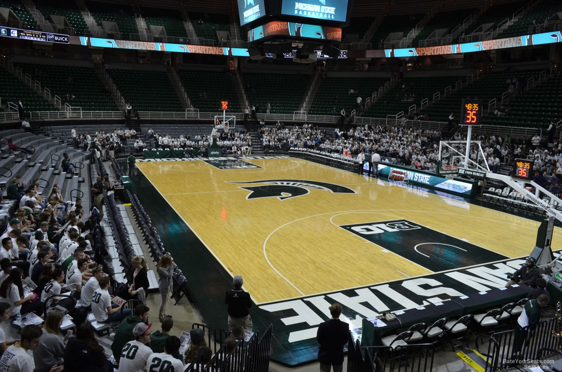 Seat View for Breslin Center Section 122, Row 13