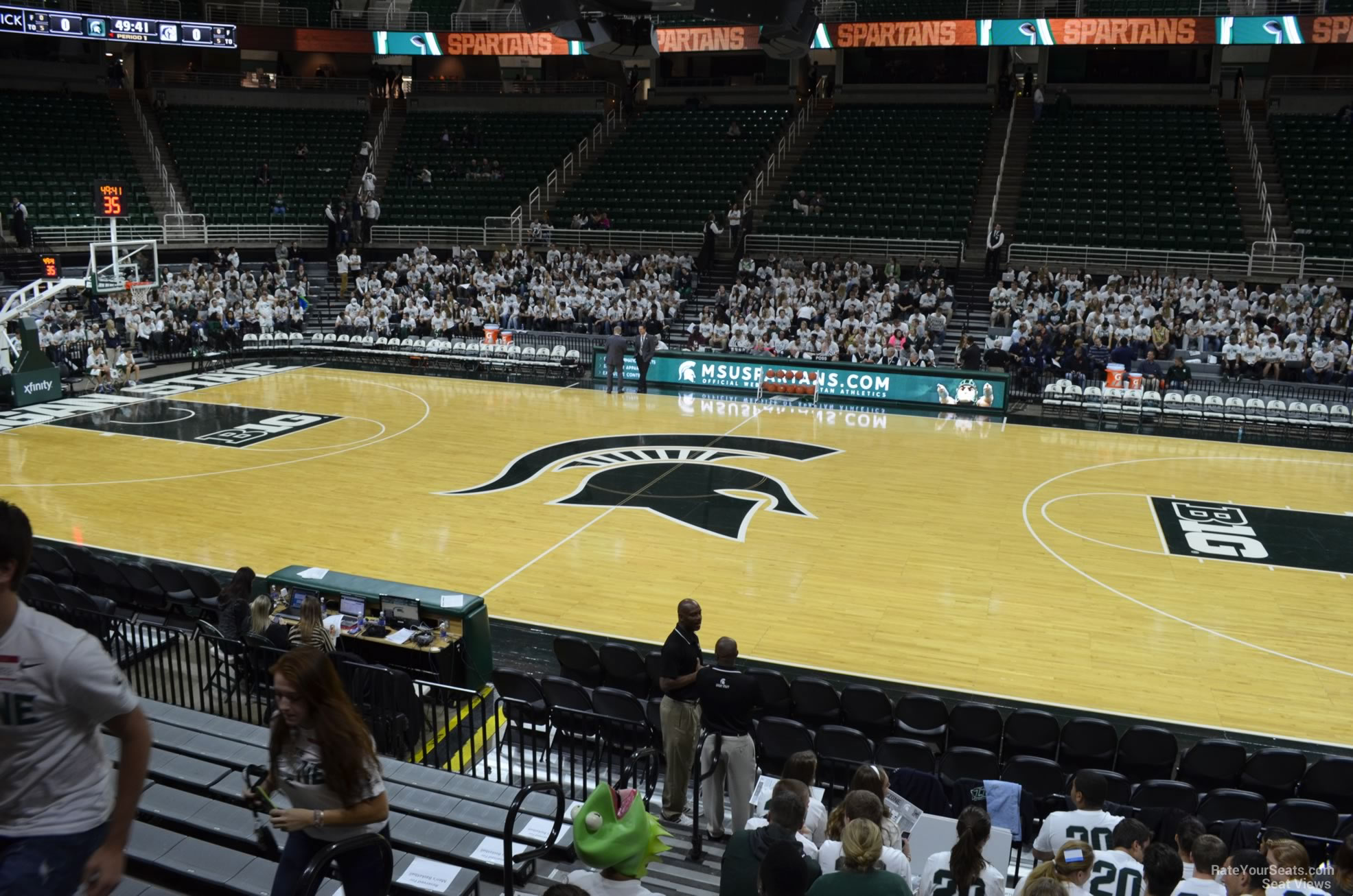 Seat View For Breslin Center Section 127