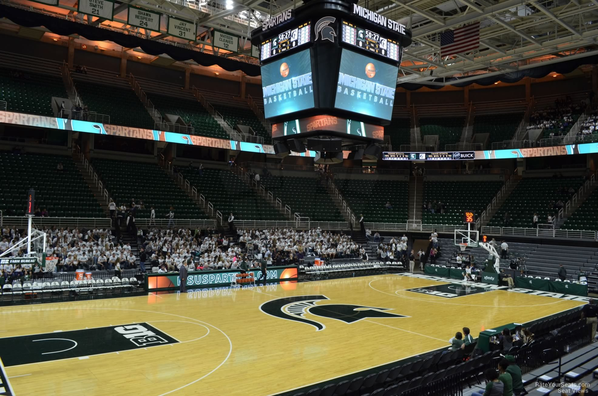 Seat View for Breslin Center Section 131