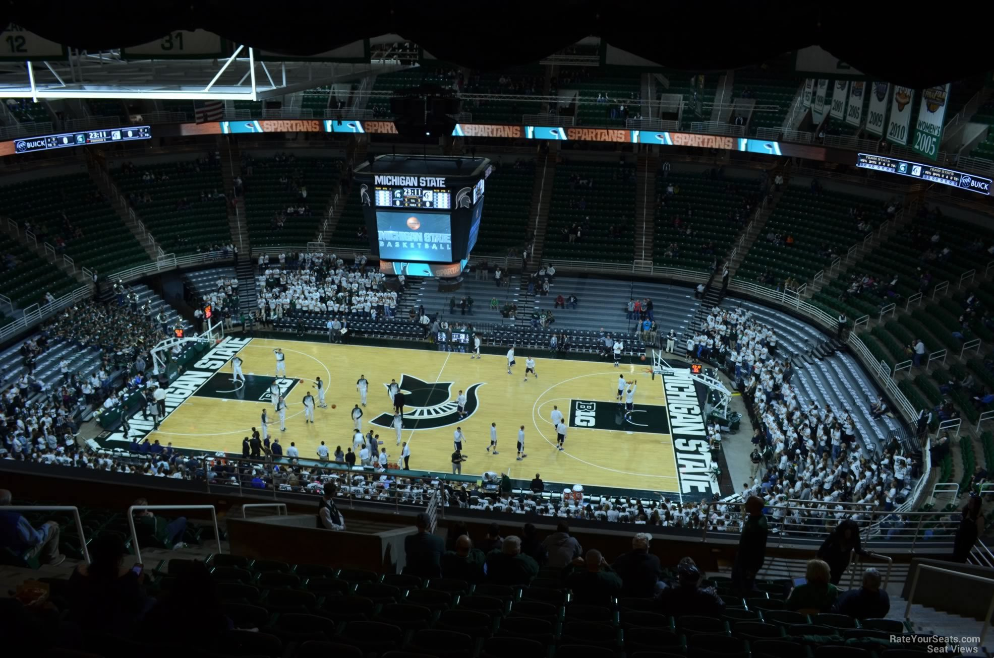 Seat View for Breslin Center Section 208, Row 15