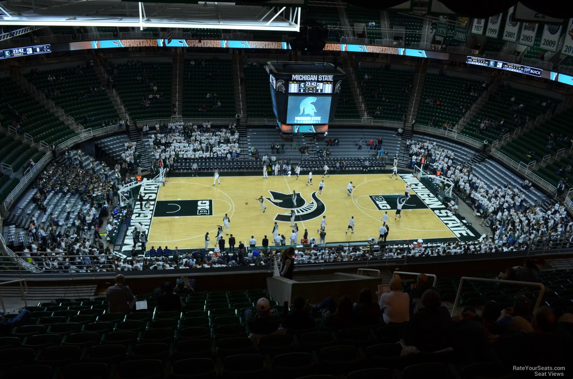 Seat View for Breslin Center Section 210