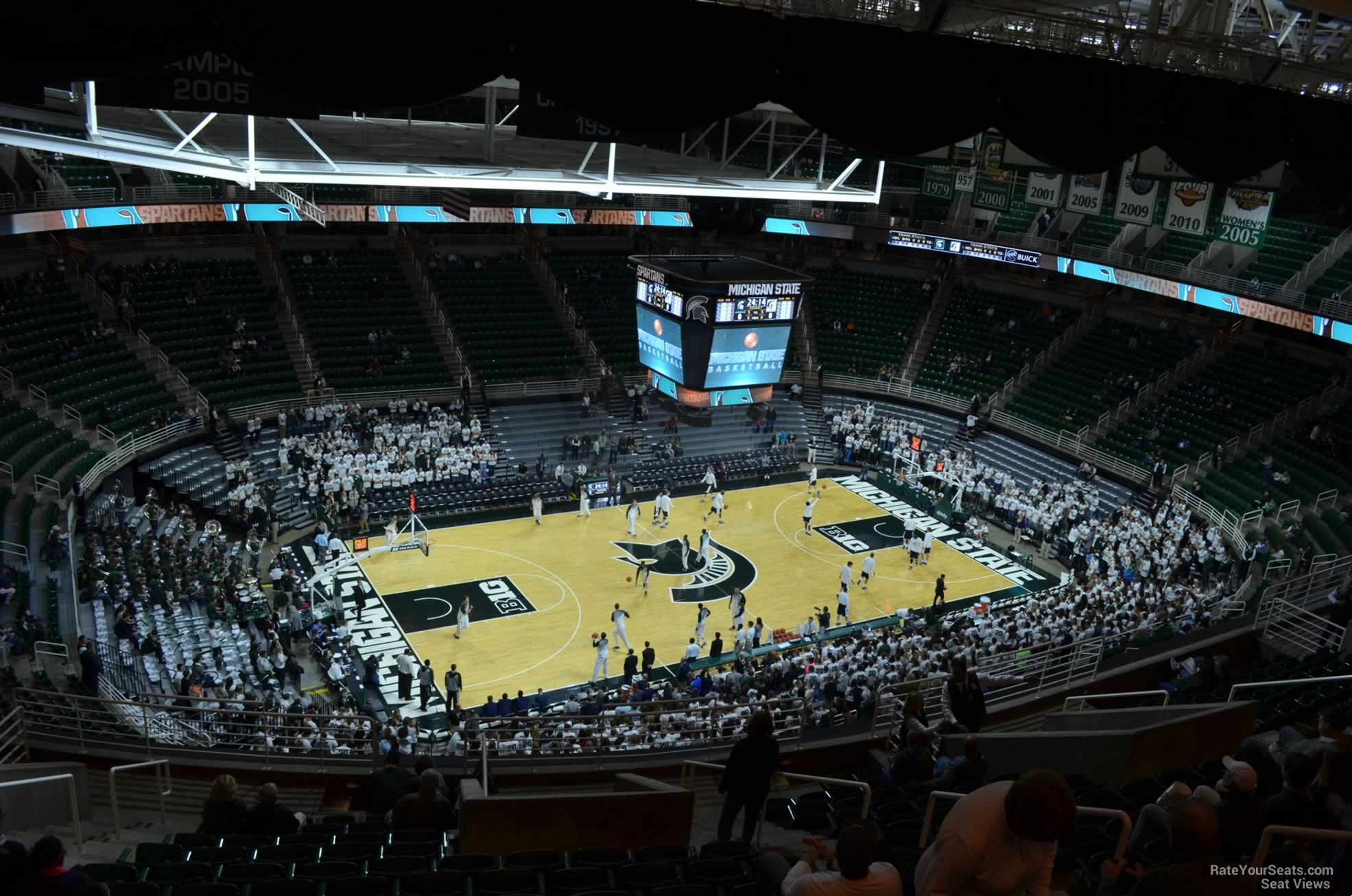 Seat View for Breslin Center Section 212, Row 15