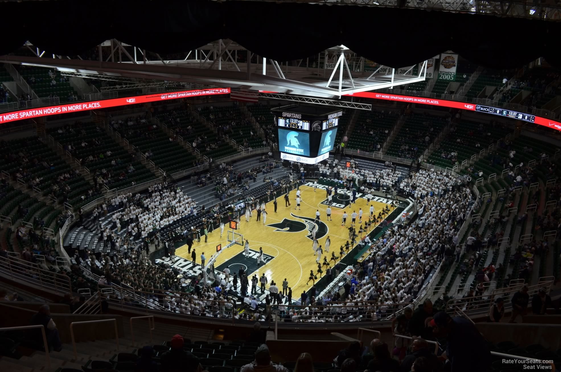 Seat View for Breslin Center Section 215, Row 15