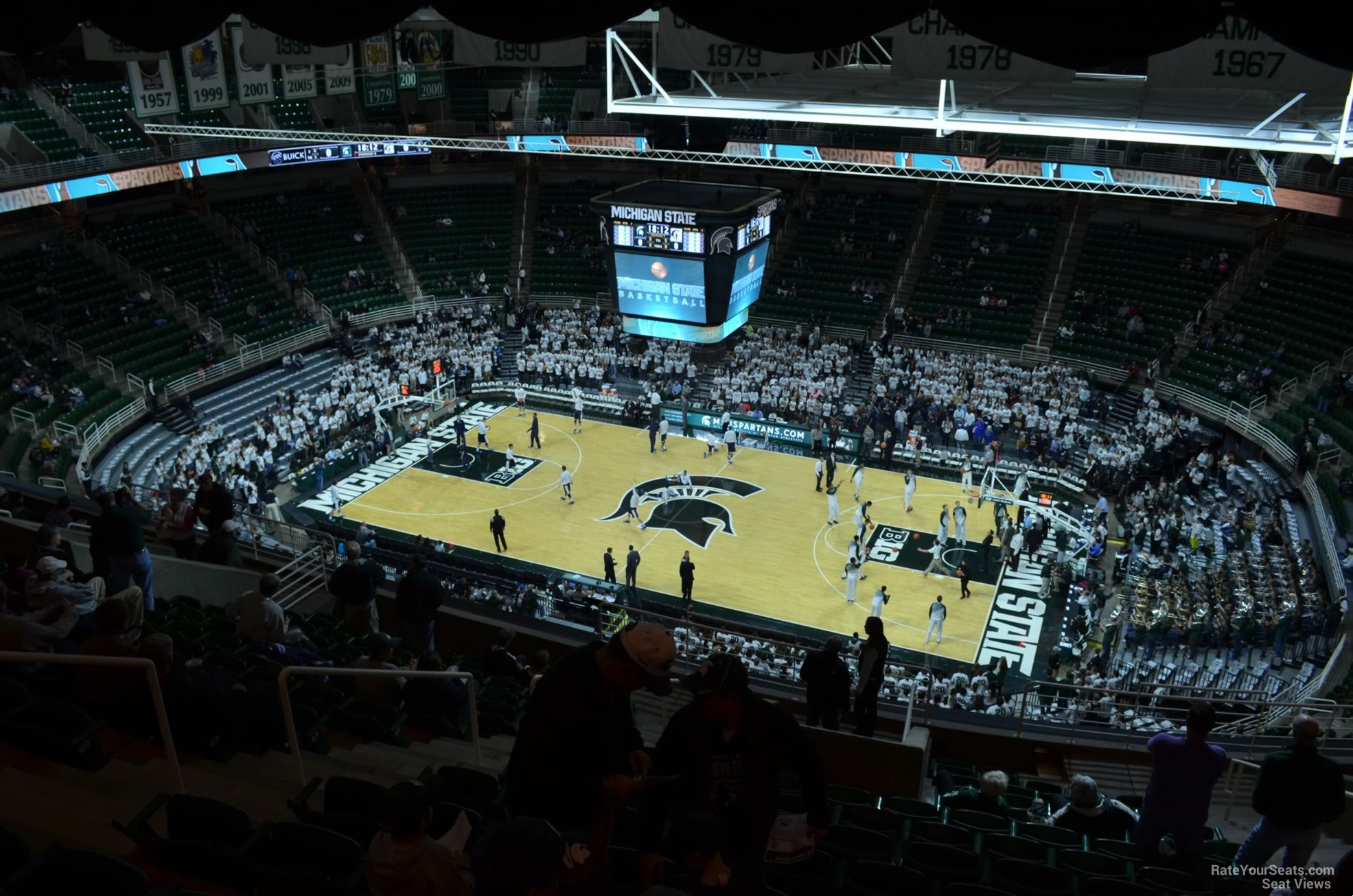 Seat View for Breslin Center Section 225, Row 15