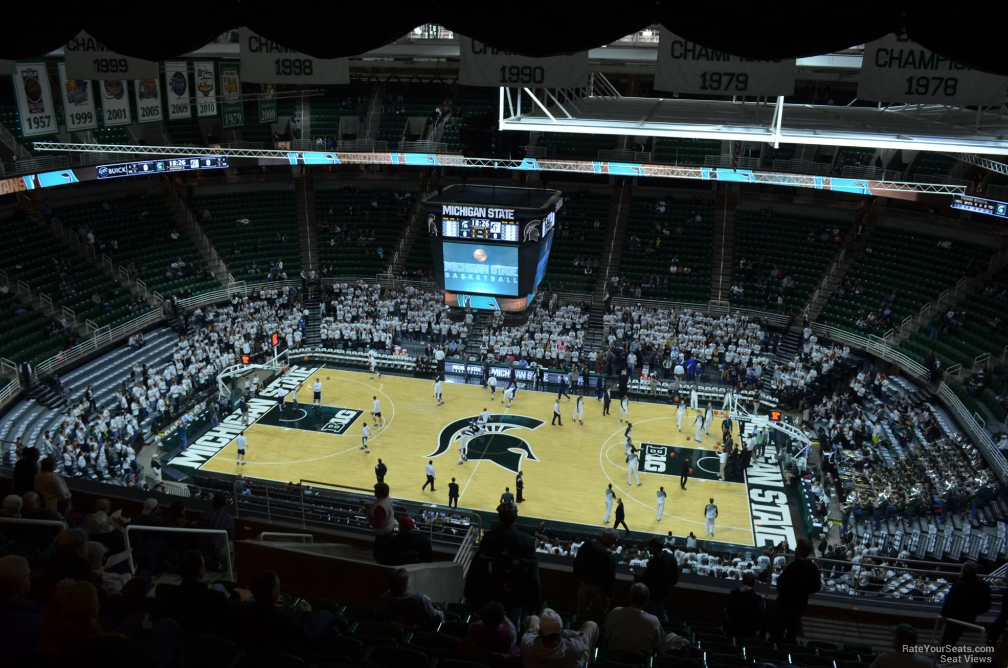 Seat View for Breslin Center Section 226, Row 15