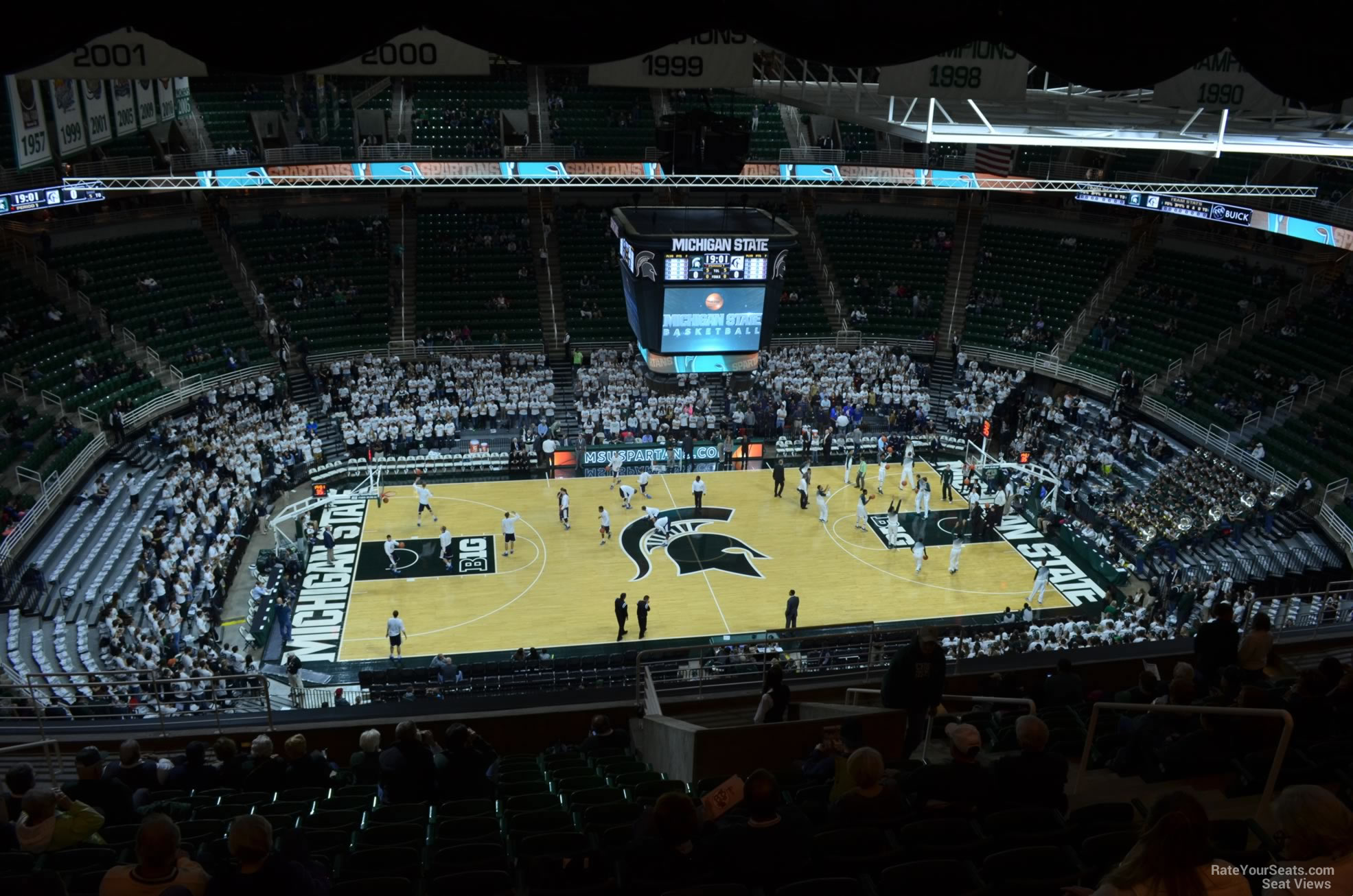 Seat View for Breslin Center Section 228, Row 15