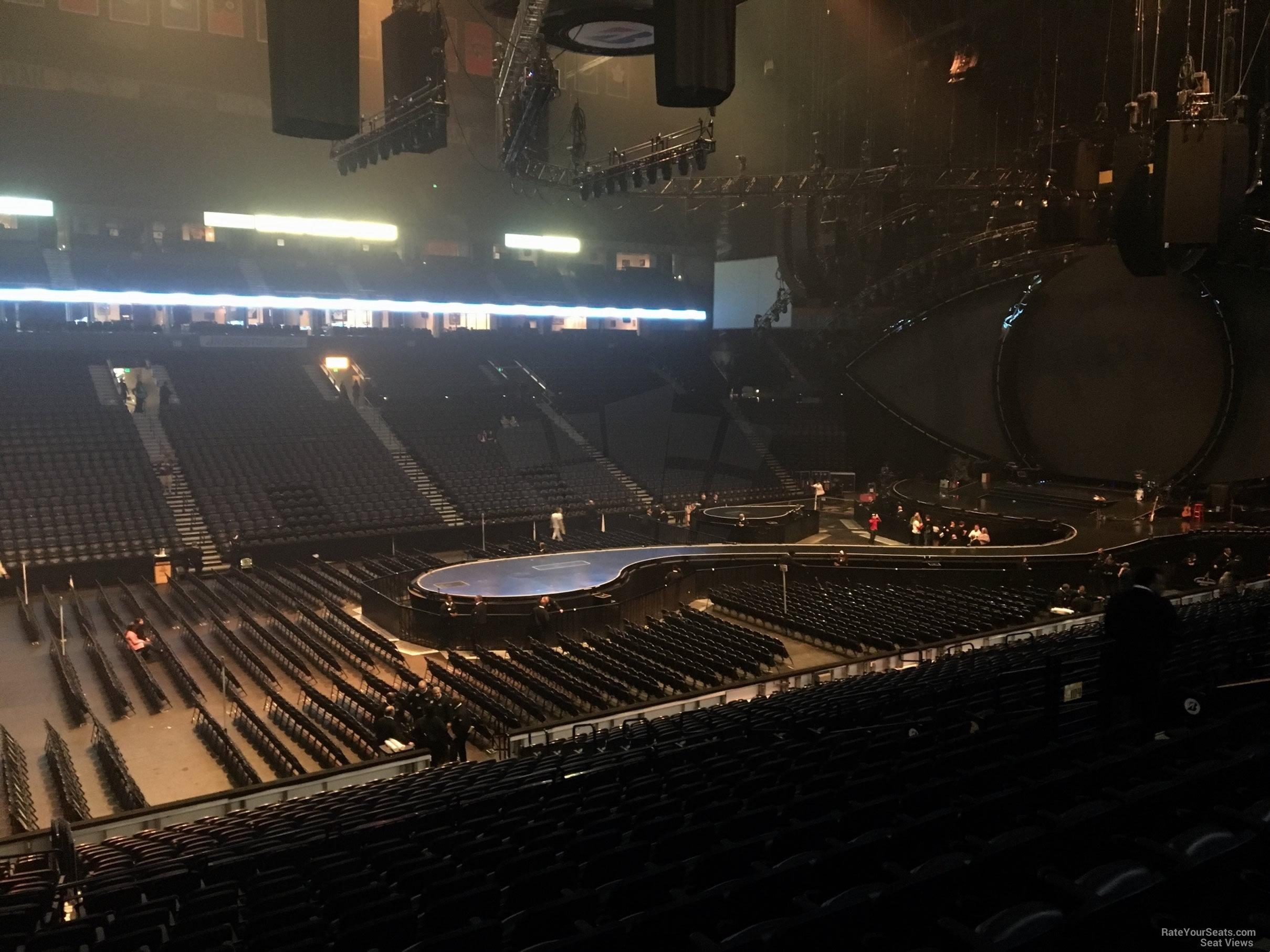 Bridgestone Arena Section 104 Concert Seating ...