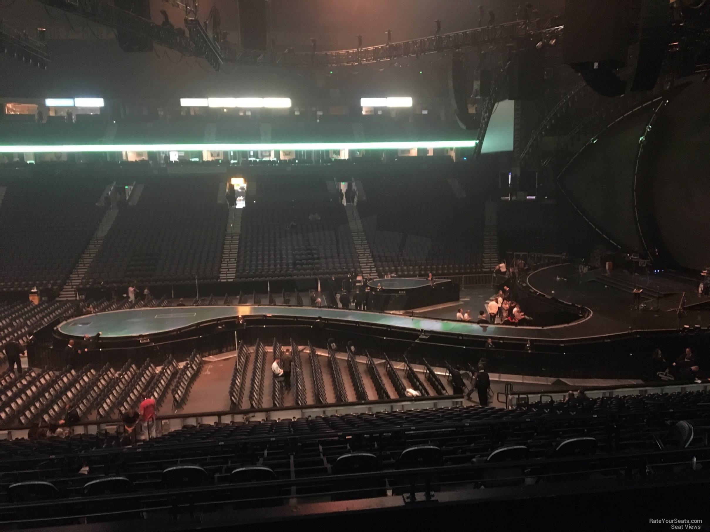 bridgestone arena seat views