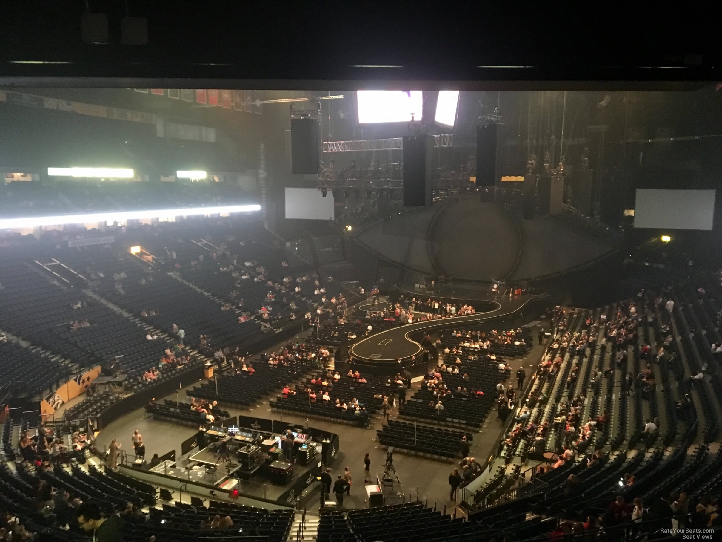 Bridgestone Arena Section 203 Concert Seating