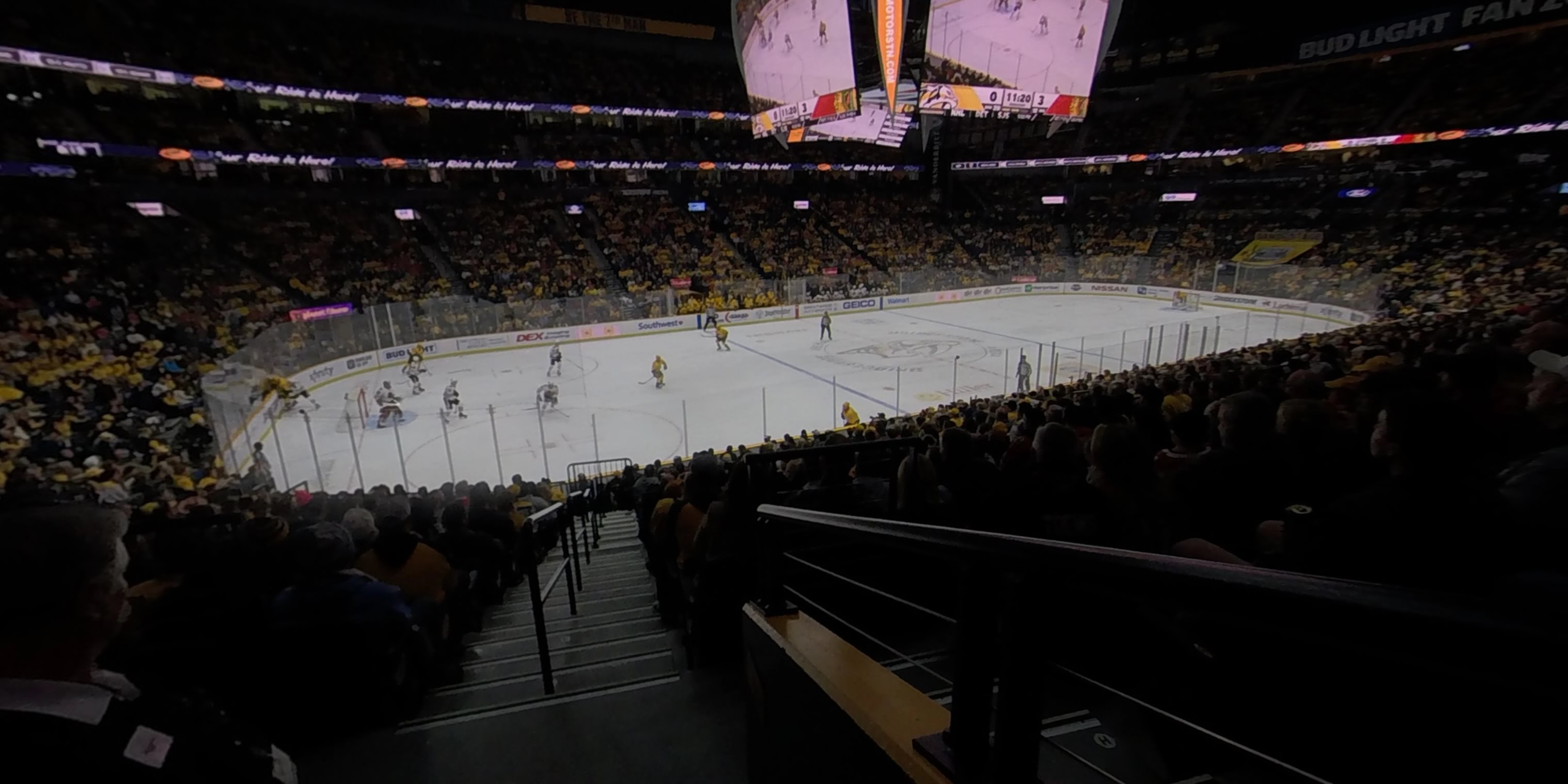 360° Photo From Bridgestone Arena Section 103