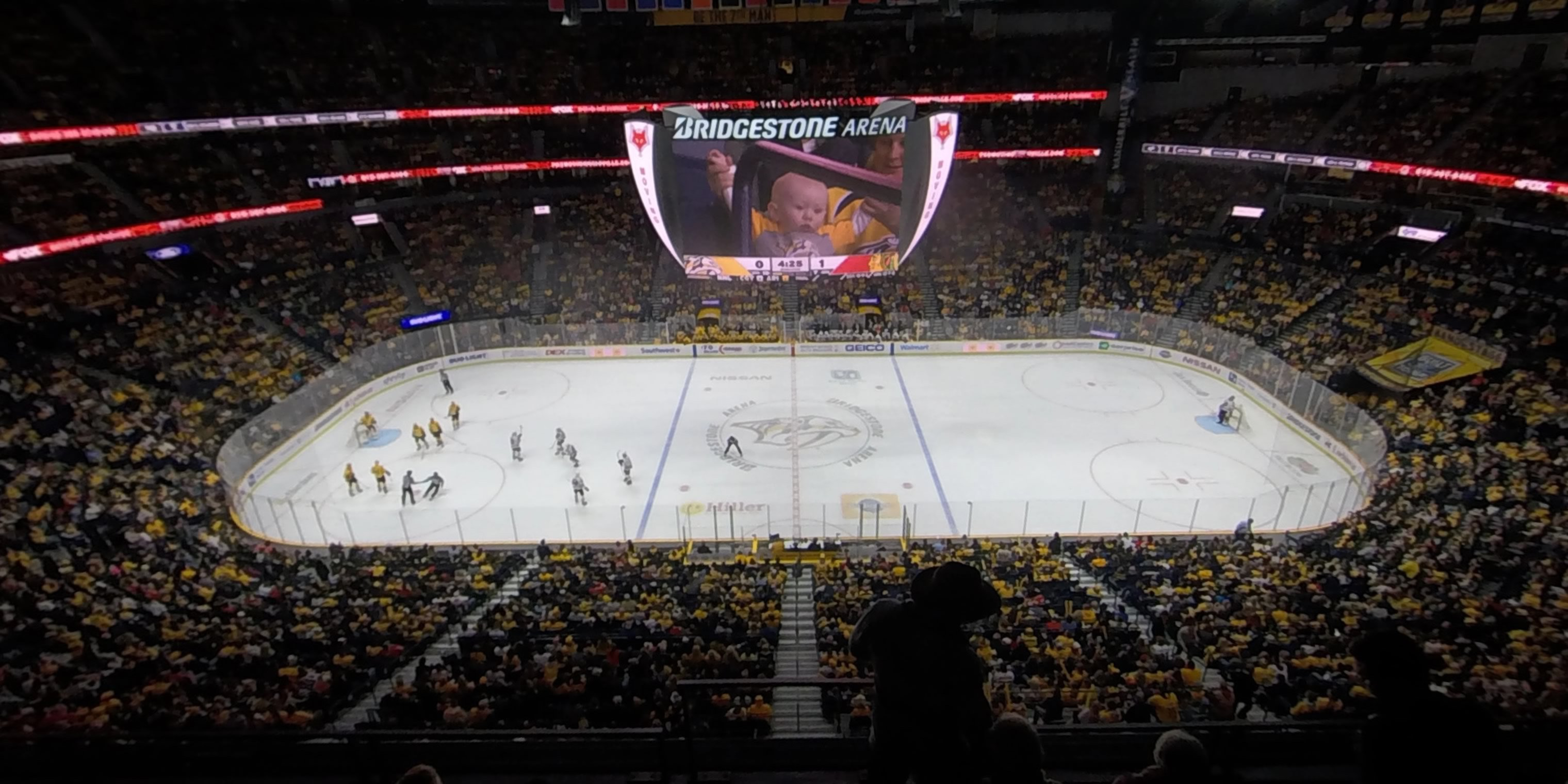 360° Photo From Bridgestone Arena Section 310