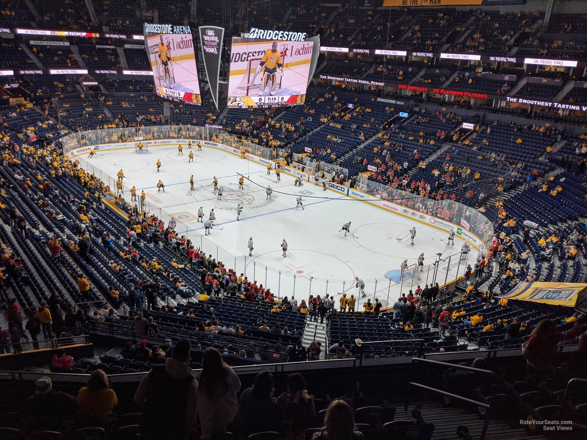 Bridgestone Arena Section 314 Nashville Predators