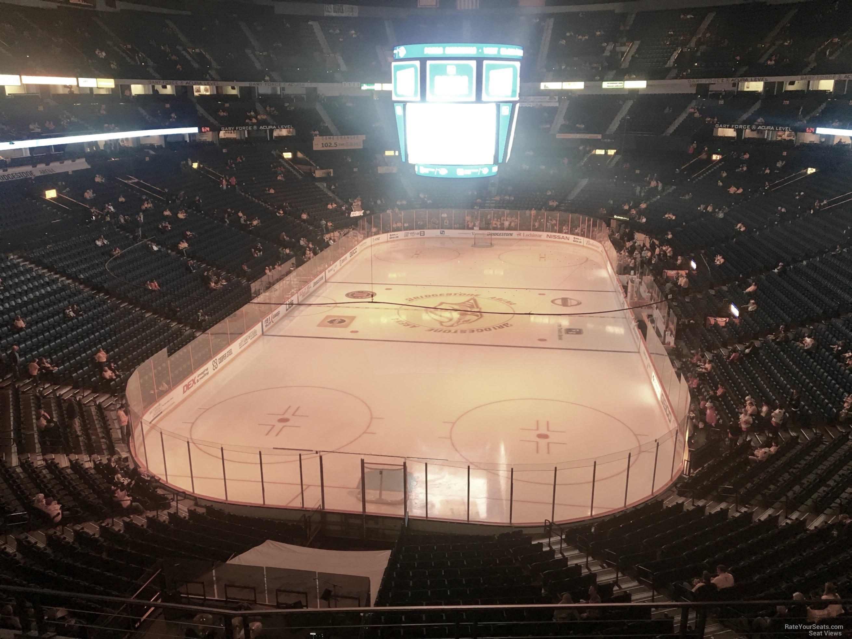 Bridgestone Arena Section 318 Nashville Predators