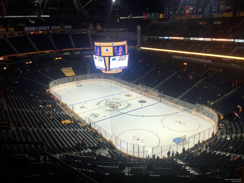 Bridgestone Arena Section 331 Nashville Predators
