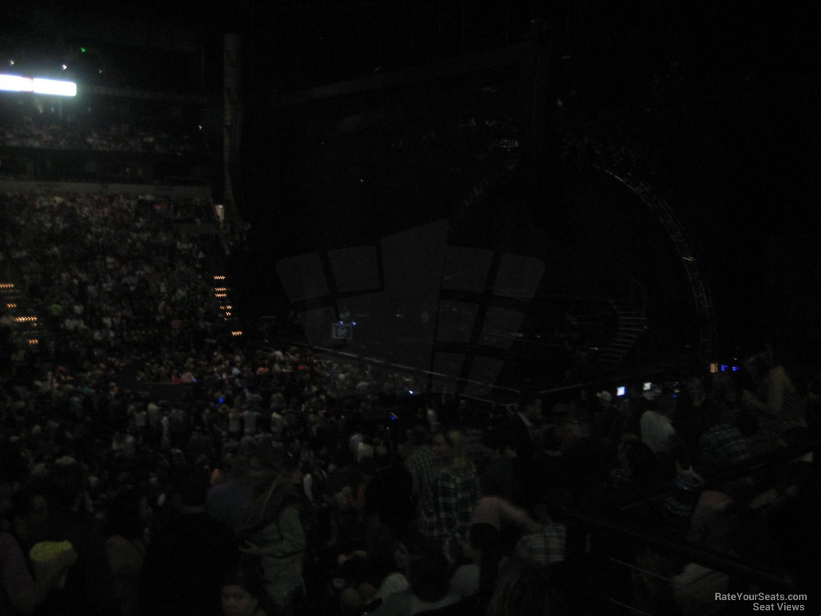 Bridgestone Arena Section 106 Concert Seating Rateyourseatscom