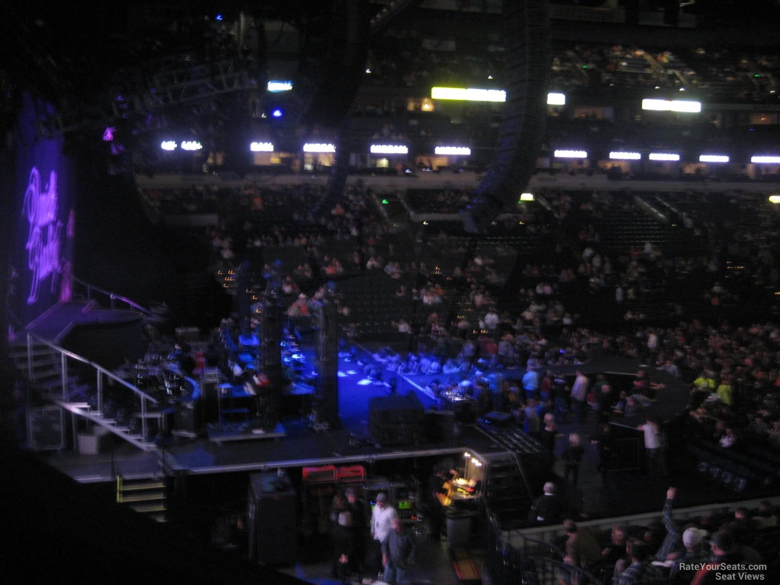 Bridgestone Arena Section 113 Concert Seating Rateyourseats Com