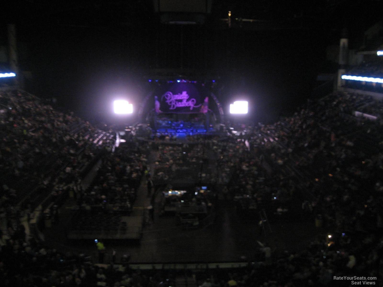 Concert Seat View for Bridgestone Arena Section 224