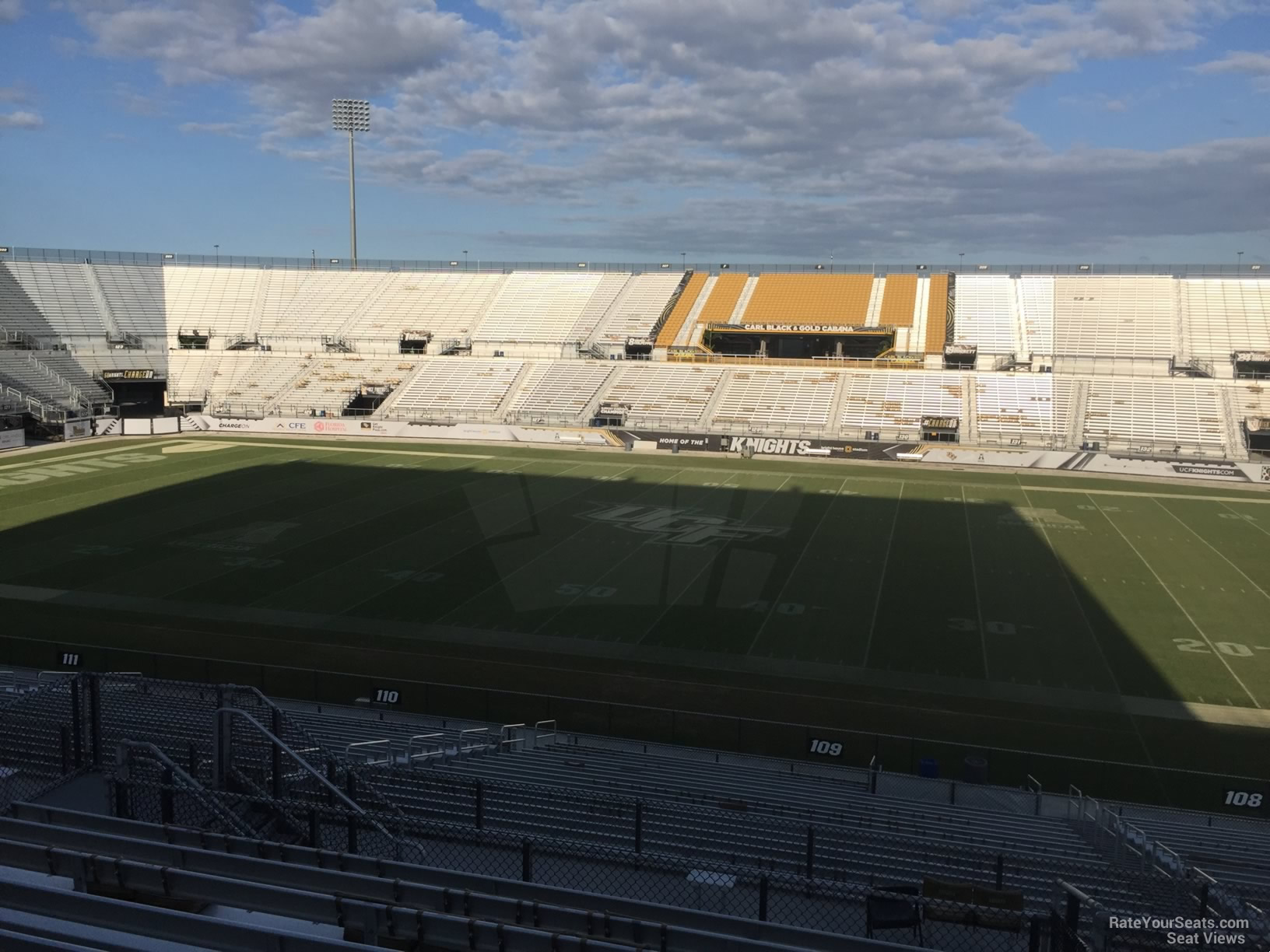 Seat View for Spectrum Stadium Section 209, Row 11