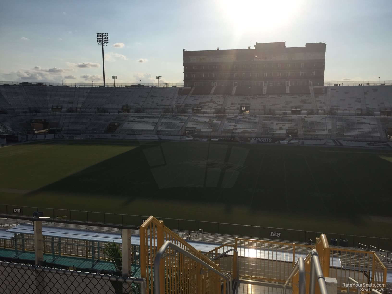 Seat View for Spectrum Stadium Section 228A, Row 11
